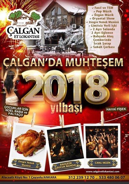 Çalgan Et Lokatası Yılbaşı Programı 2018
