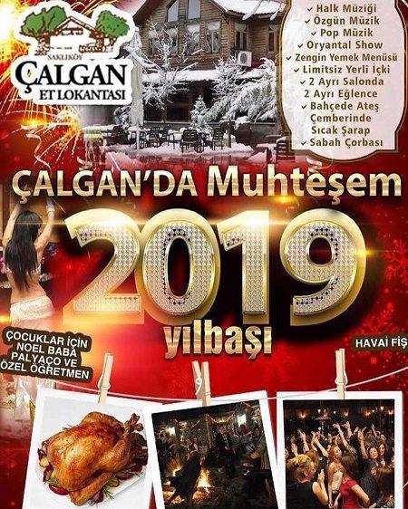Çalgan Et Lokatası Yılbaşı Programı 2019