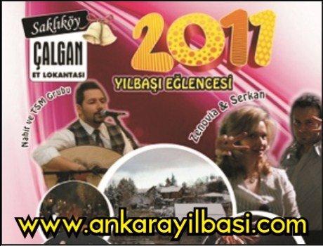 Saklıköy Çalgan Et Lokantası 2011 Yılbaşı Programı