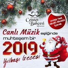 Sarayköy Cennet Bahçesi Yılbaşı 2019