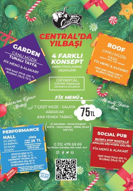 Central Ankara Yılbaşı 2020