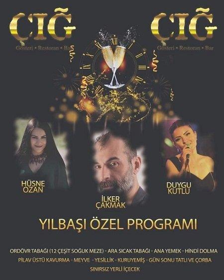 Çığ Gösteri Merkezi Yılbaşı Programı 2019