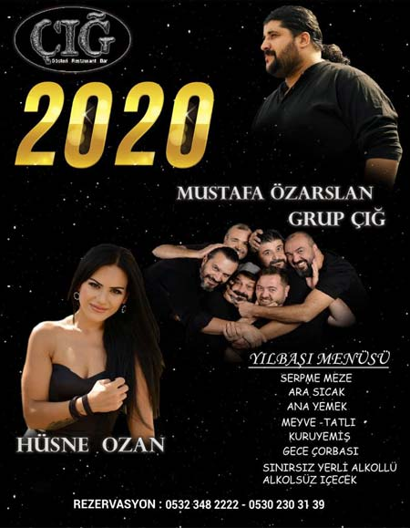 Çığ Gösteri Merkezi Yılbaşı Programı 2020