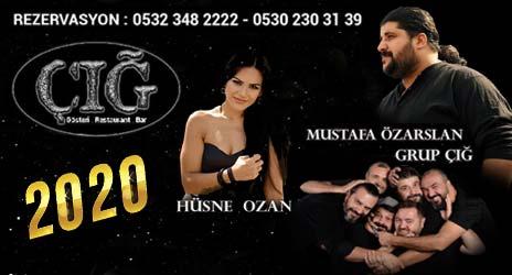 Cığ Gösteri Yılbaşı Ankara 2020