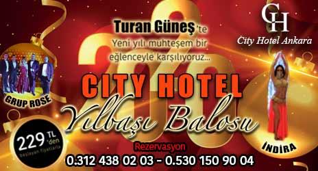 City Otel Ankara Yılbaşı 2020