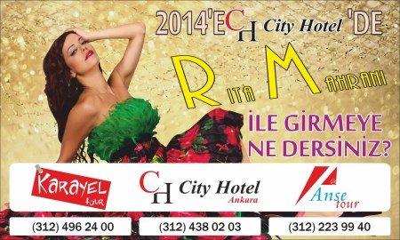City Otel 2014 Yılbaşı