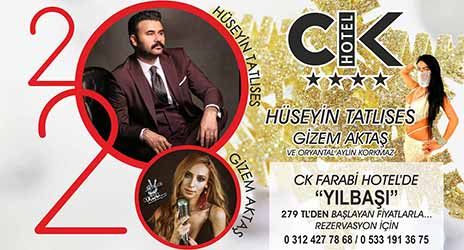 CK Farabi Hotel Ankara 202 Yılbaşı