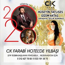 CK Farabi Hotel Ankara 2020 Yılbaşı
