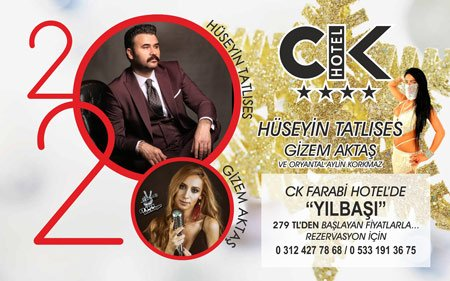 CK Farabi Otel Yılbaşı Programı 2020