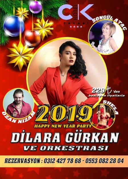 CK Farabi Otel Yılbaşı Programı 2019