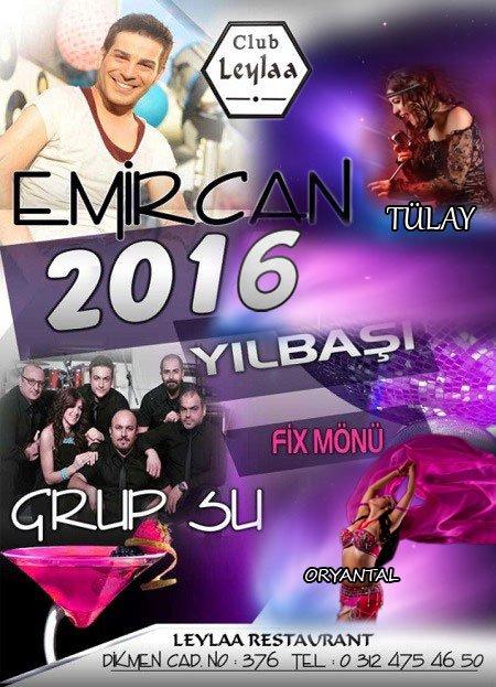 Club Leylaa Yılbaşı 2016