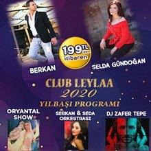 Club Leylaa Ankara Yılbaşı 2020