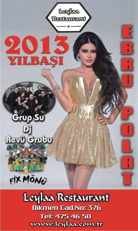 Club Leylaa 2013 Yılbaşı Programı