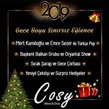 Cosy Restaurant Yılbaşı 2019