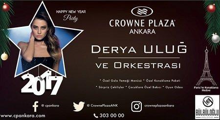 Crowne Plaza Ankara Yılbaşı Programı 2017