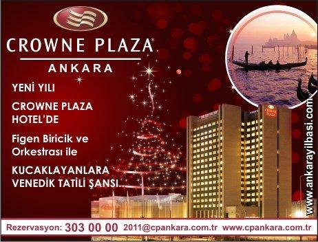 Crowne Plaza Ankara 2011 Yılbaşı Programı