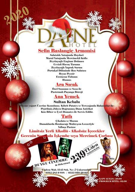 Dafne Hotel Yılbaşı Programı 2020