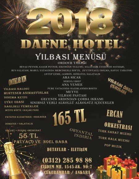 Dafne Hotel Yılbaşı Programı 2018