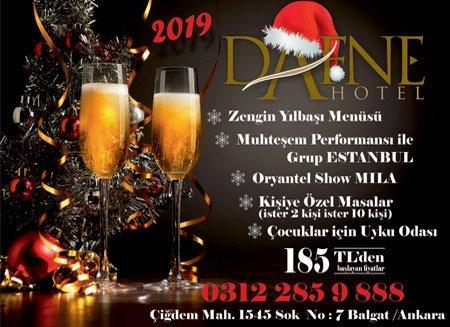Dafne Hotel Yılbaşı Programı 2019