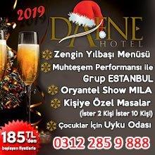 Dafne Hotel Ankara Yılbaşı 2019