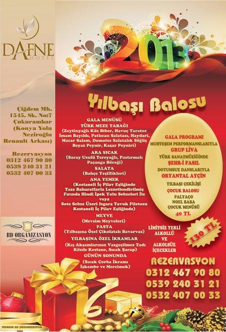 Dafne Otel 2013 Yılbaşı Programı