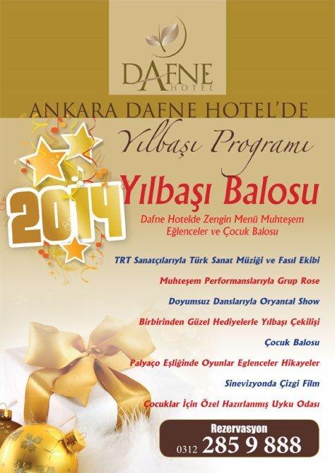 Dafne Otel 2014 Yılbaşı Programı