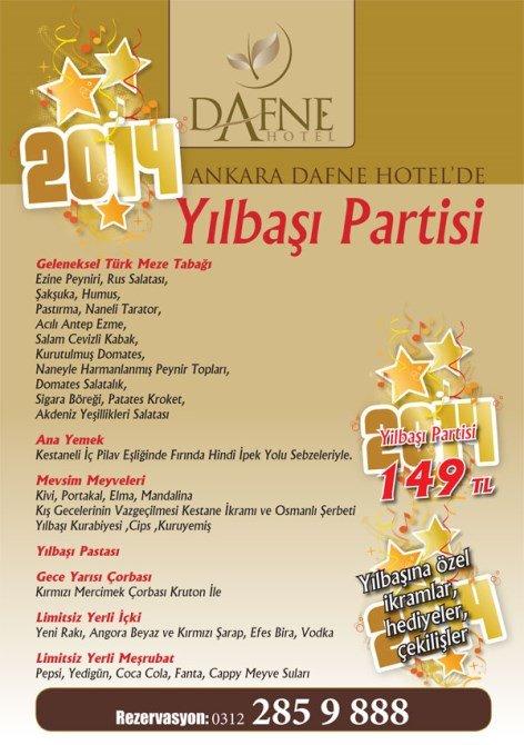 Dafne Otel Yılbaşı Partisi 2014
