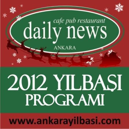 Daily News Cafe 2012 Yılbaşı Programı