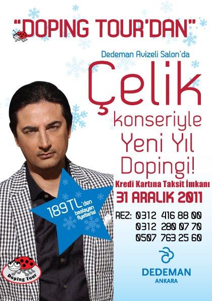 Dedeman Ankara 2012 Yılbaşı Programı