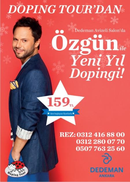 Dedeman Ankara 2013 Yılbaşı Programı
