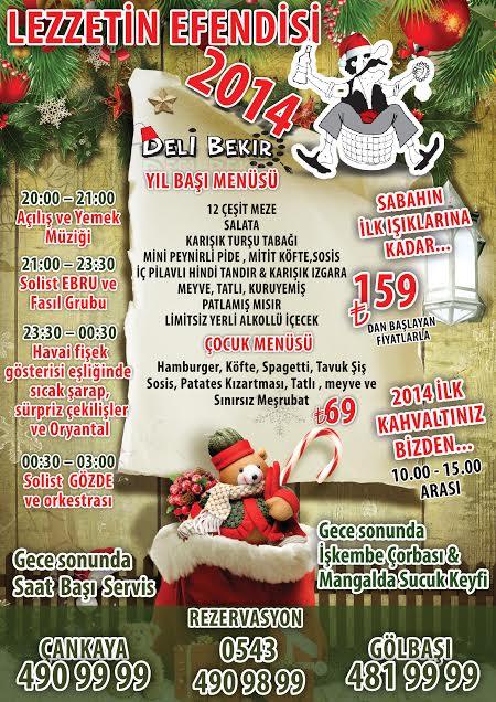 Deli Bekir 2014 Yılbaşı Programı