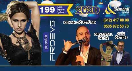 Demonti Hotel 2020 Ankara Yılbaşı