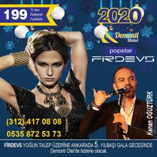 Demonti Hotel Ankara Yılbaşı 2020