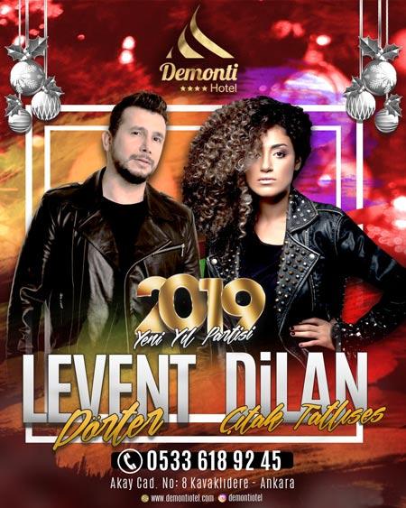 Demonti Hotel Ankara Yılbaşı Programı 2019