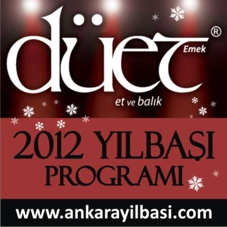 Düet Restaurant 2012 Yılbaşı Programı