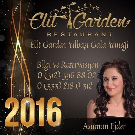 Elit Garden Yılbaşı Programı 2016