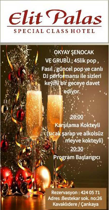 Elit Palas Hotel Yılbaşı 2017