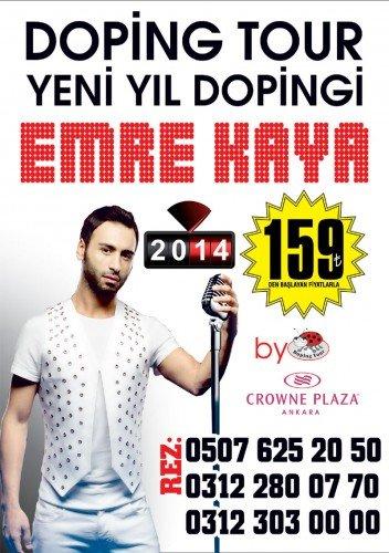 Emre Kaya 2014 Yılbaşı Ankara