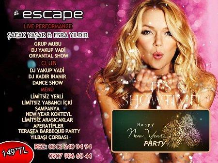 Escape Club 2015 Yılbaşı