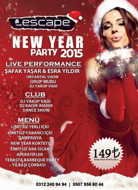 Escape Club Ankara Yılbaşı