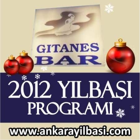Gitanes Bar 2012 Yılbaşı Programı