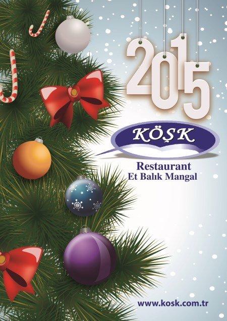 Gölbaşı Köşk Restoran 2015 Yılbaşı