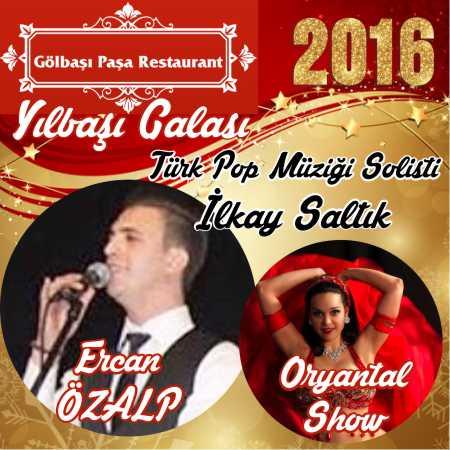 Paşa Restaurant Gölbaşı Yılbaşı 2016