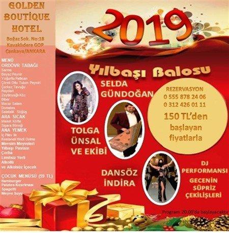 Golden Butik Otel Yılbaşı 2019
