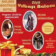 Golden Boutique Hotel Yılbaşı 2019