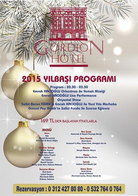 Gordion Otel 2015 Yılbaşı Programı