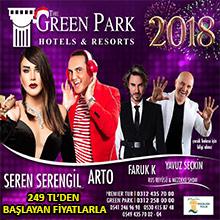Green Park Ankara Yılbaşı Programı 2018
