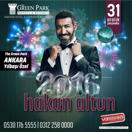 The Green Park Ankara Yılbaşı Hakan Altun