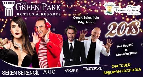 Green Park Ankara Yılbaşı Programı
