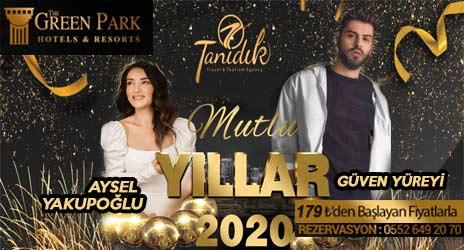 Green Park Hotel Ankara 2020 Yılbaşı
